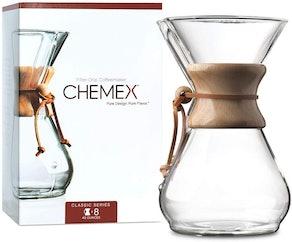 CHEMEX Pour-Over Glass Coffeemaker (64 Ounces)
