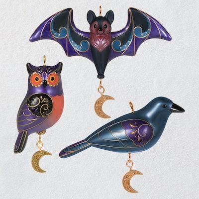 Spooky Halloween Ornaments Set Of Three