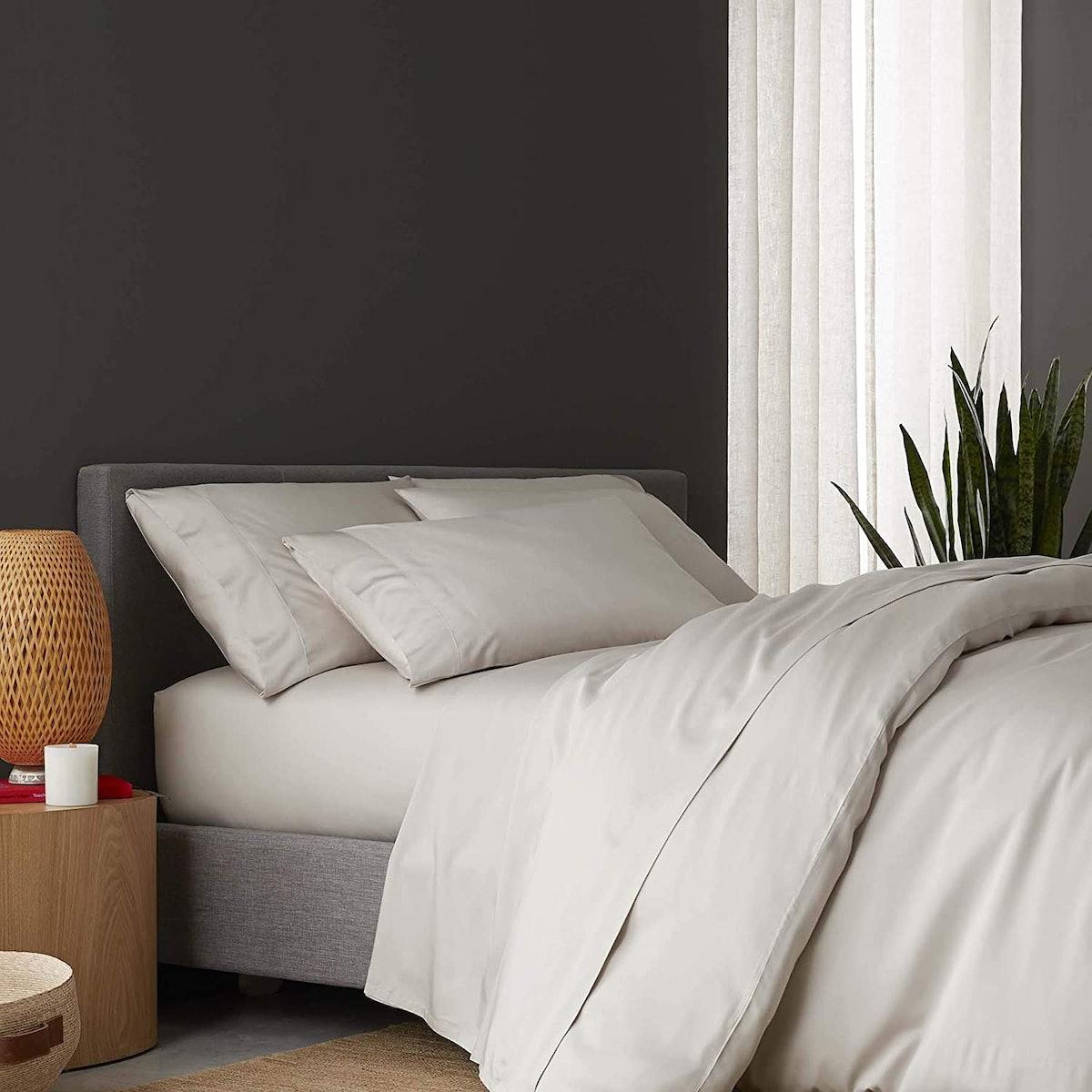 Sijo Premium 100% Bamboo Lyocell Bed Sheet Set