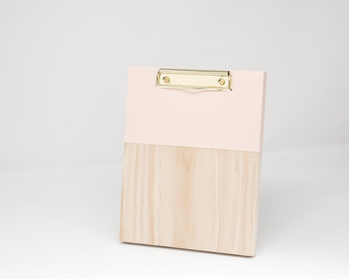 Wooden Clipboard Hand Painted