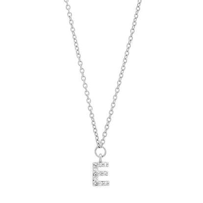 DIAMOND MINI INITIAL NECKLACE