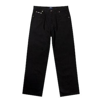 Noah Black Pleated Jean