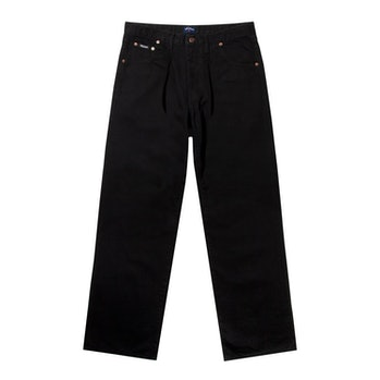 Noah Black Pleated Jean