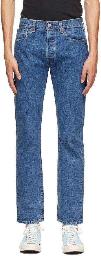 Levi's Blue 501 Original Fit Jeans