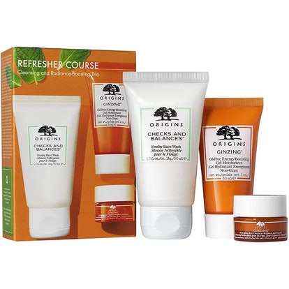 Origins Cleansing and Radiance-Boosting Trio