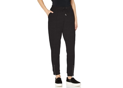 Skinnygirl Sierra Pull-On Jogger with Zipper Hem