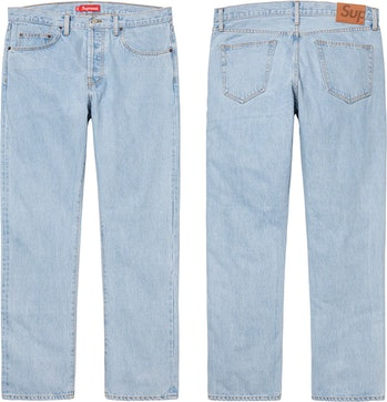 Supreme Stone Washed Slim Jean
