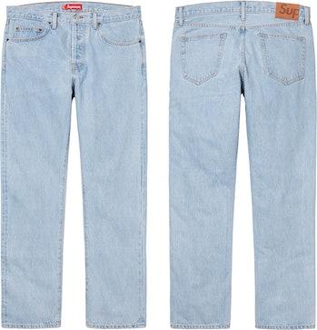 Supreme Stone Washed Slim Jean