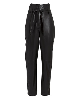 Ethan Tailored Vegan Leather Pants