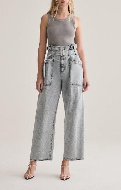 Paperbag Utility Pants