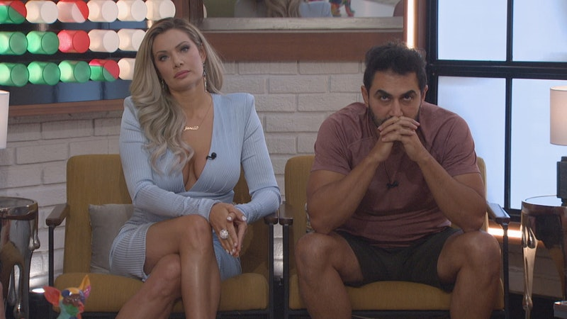 Janelle and Kaysar on Big Brother via the CBS press site