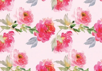 Floral Oasis Play Mat