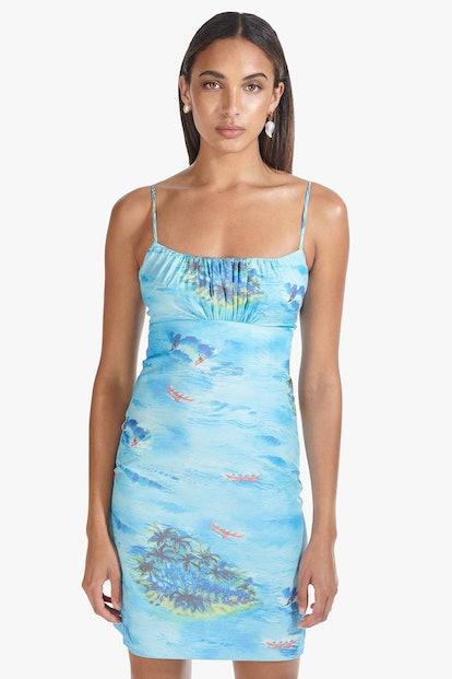 BELL DRESS   BLUE ISLAND