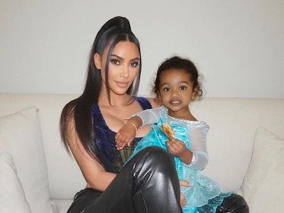 Kim Kardashian West and her daughter Chi