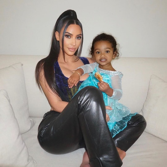 Kim Kardashian West and her daughter Chi