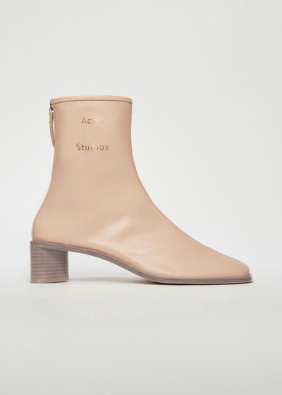 Branded Leather Boot