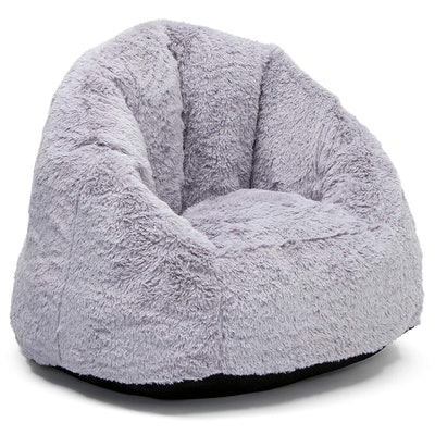 Delta Children Snuggle Foam Filled Chair - Tween Size, Grey