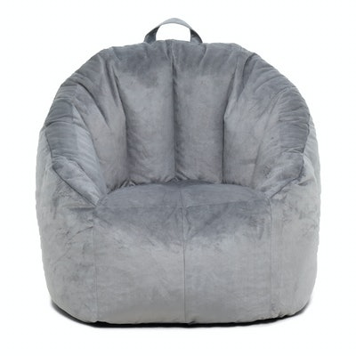 Big Joe Joey Bean Bag Chair in Gray