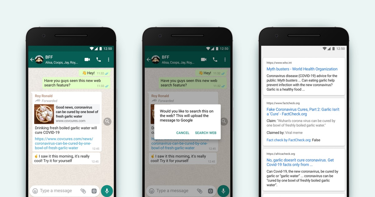 WhatsApp's new tool helps users check the accuracy of news stories