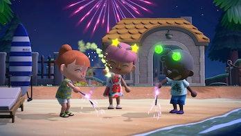 Animal Crossing: New Horizons, Redd Fireworks