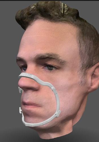 Bellus3D scanning app.