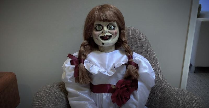 Annabelle in Quarantine is downright terrifying.