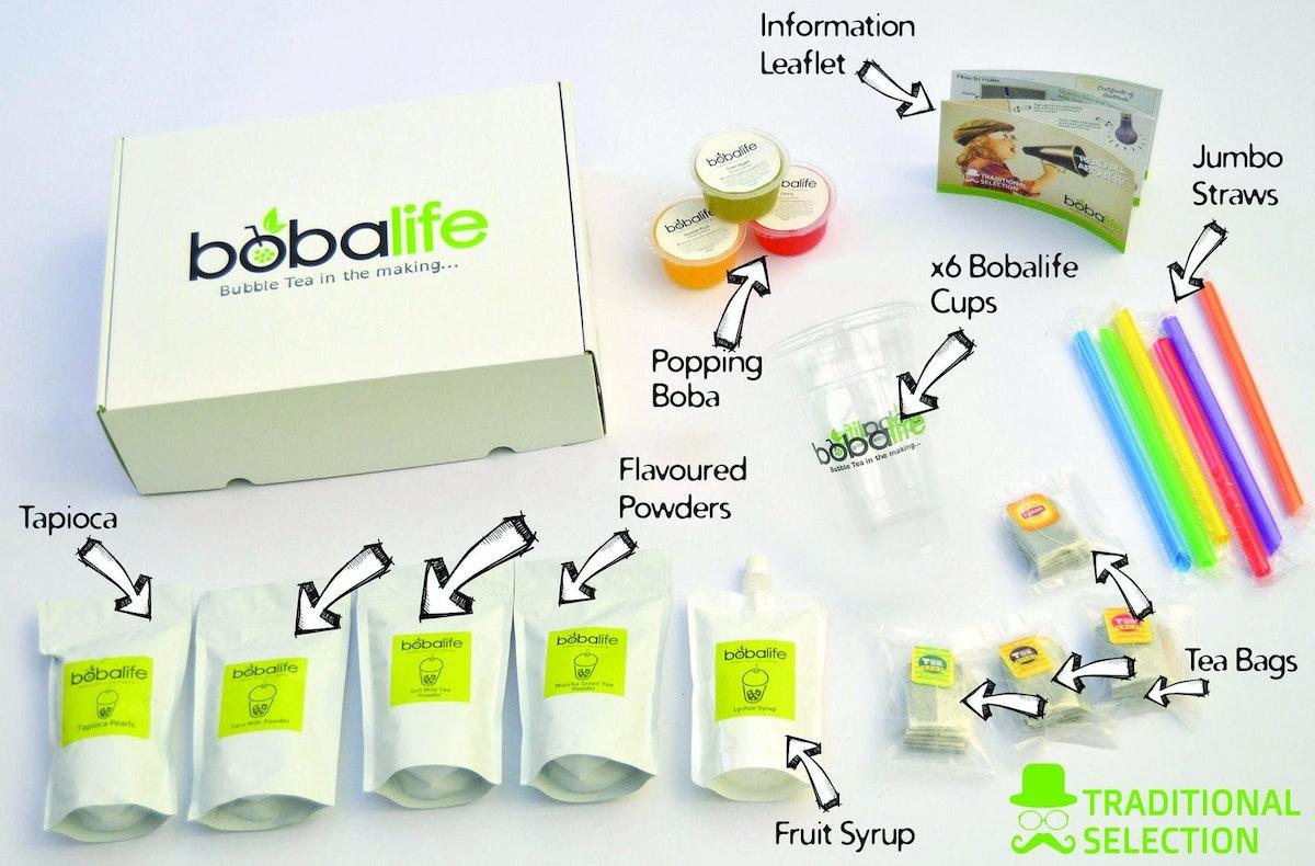 Bobalife Bubble Tea Kit - Traditional Selection