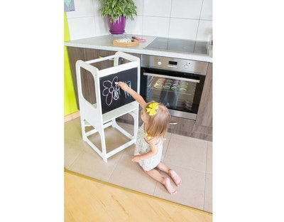 Kitchen tower in white with chalkboard, SweetHOMEfromwood