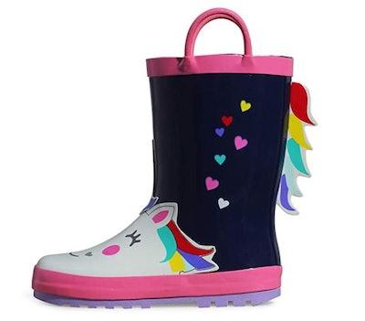 K KomForme Kids Rain Boots