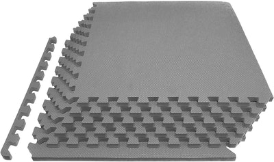 Prosource Fit Extra Thick Puzzle Exercise Mat