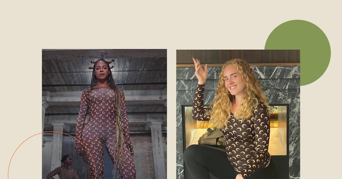 Adele Recreated Beyoncé's 'Black Is King' Bodysuit Look & Nailed It