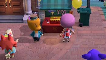 Redd Firework Raffle, Animal Crossing New Horizons