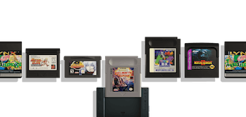 The Analogue Pocket and a variety of cartridges.