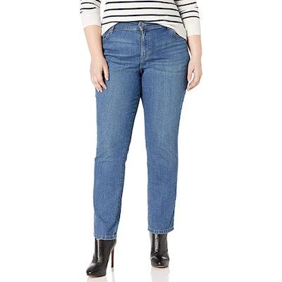 Lee Women's Plus Size Relaxed Straight Leg Jean