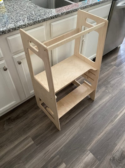 Double Helper Tower Helper Tower For Twins, FussyDuckDesign -