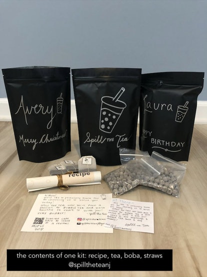 DIY Milk Bubble Tea Personalized Kit