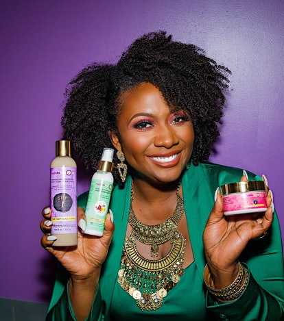 Gwen Jimmere, founder and CEO of haircare brand Naturalicious.