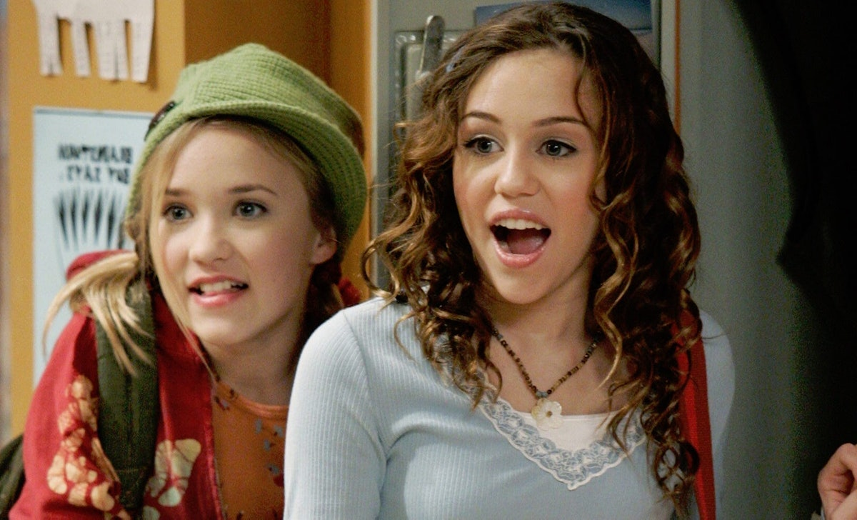 Hilary Duff is open to a 'Lizzie McGuire' and 'Hannah Montana' crossover.
