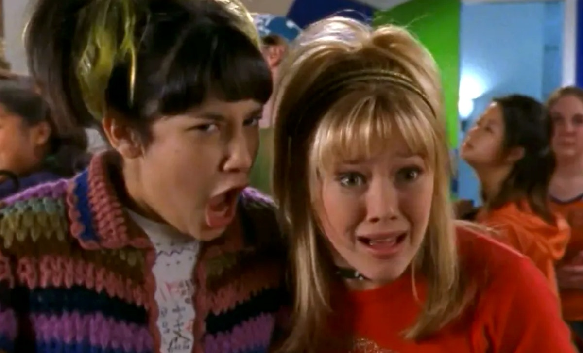 Hilary Duff is open to having a 'Hannah Montana' crossover on the 'Lizzie McGuire' reboot.