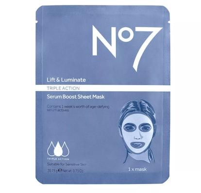 Lift & Luminate Triple Action Serum Boost Face Mask Sheet