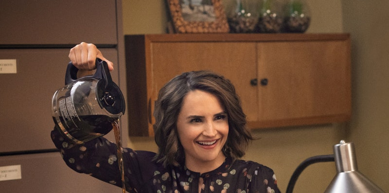 Rachael Leigh Cook in Netflix's 'Love Guaranteed'