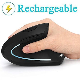 LEKVEY Rechargeable 2.4GHz Optical Vertical Mouse