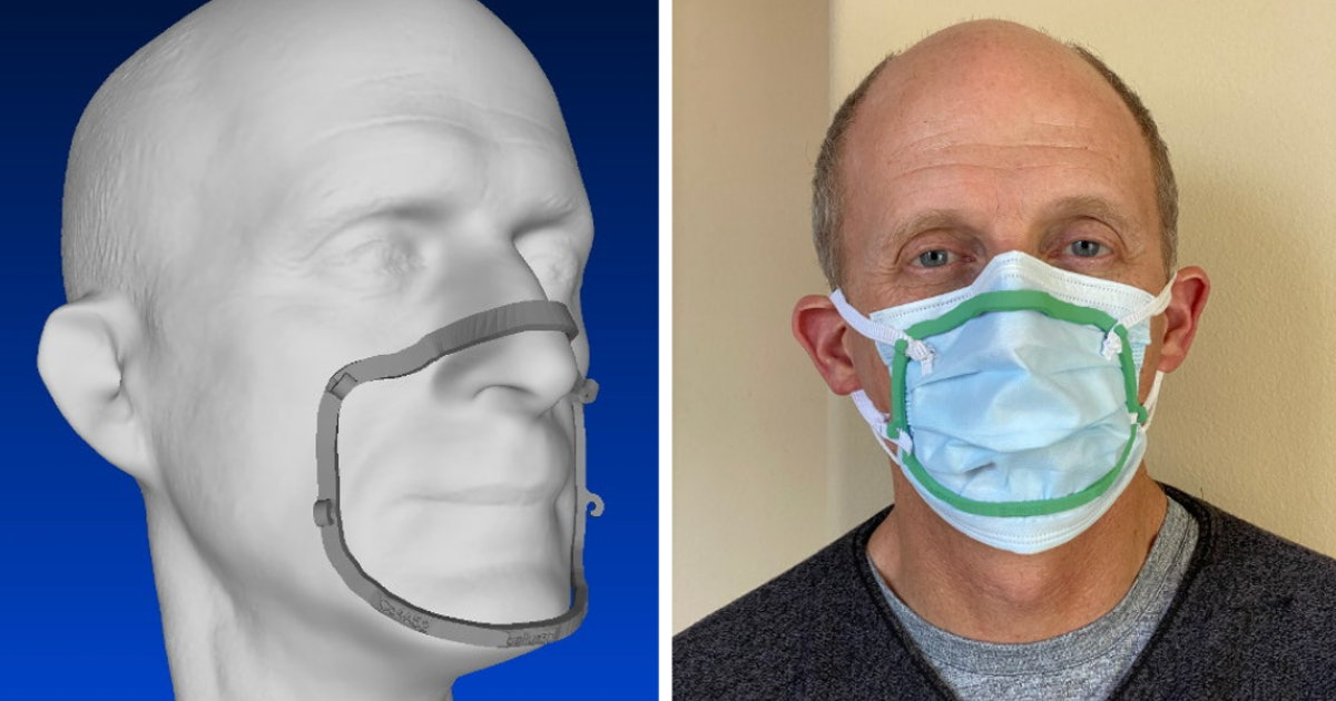 This face-scanning app will let you 3D-print the perfect seal for your face mask