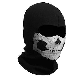 Nuoxinus Black Balaclava Face Mask