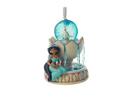 jasmine disney holiday ornament