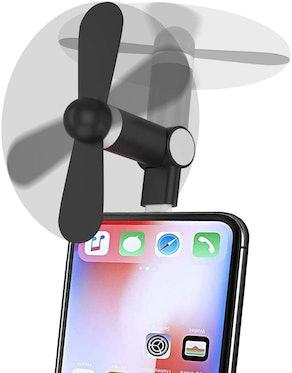 Wuedozue Mini Phone Fan