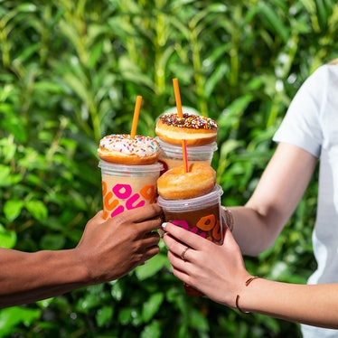 Dunkin's Free Coffee Mondays and Free Donut Fridays in August include tasty flavors