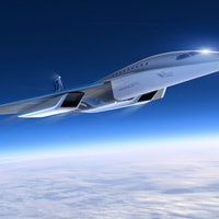 Virgin Galactic could be looking to the '80s with a futuristic commercial plane