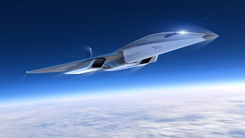 Another artist's rendering of the aircraft.
