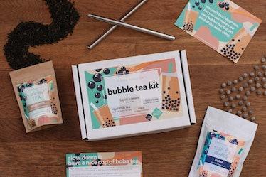 Bubble Tea Kit DIY Boba Tapioca Pearls